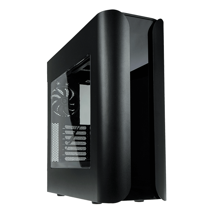 Pandora ATX Core w/ Window, No PSU, ATX, Black, Mid Tower Case