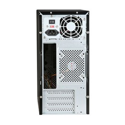 WN-41 Black Mini-Tower Case, mATX, 350W PSU, Steel
