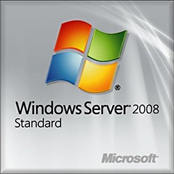 Windows Server Standard 2008 R2, 64-bit, 1-4 CPU, 5 Clients, OEM