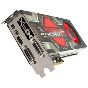Radeon HD 6970 880MHz, 2GB GDDR5 5500MHz, PCIe x16 CrossFire, 2x DVI+HDMI+2x mini-DP, Retail
