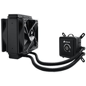 H80 Hydro CPU Liquid Cooling System, Socket LGA2011/1155/1156/1366/775/AM3/AM2, Retail