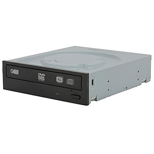 iHAS524 Black 24x DVD±RW Dual-Layer Burner w/ LabelTag, SATA, OEM