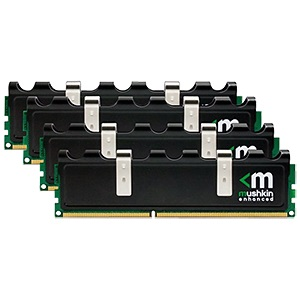8GB (4 x 2GB) Blackline PC3-12800 DDR3 1600MHz CL8 (8-8-8-24) 1.5V SDRAM DIMM, Non-ECC
