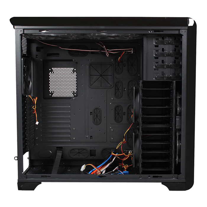Blackhawk-Ultram, No PSU, E-ATX, Black, Full Tower Case