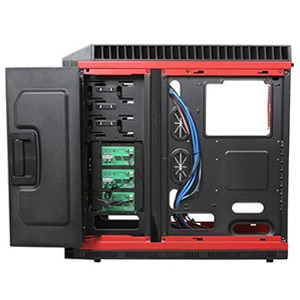 Taiji CFI-A7007 Black Mid-Tower Case, 2x USB 3.0, ATX, No PSU