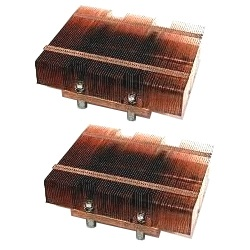 2 x SNK-P0030P Socket 771 Passive Heatsink for SBI-7125 Series Processor Blade