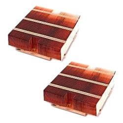 2 x SNK-P0031P Socket 1207 Passive Heatsink for 7141M-T/7121M-T1 Series Processor Blade