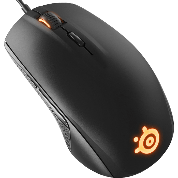 steelseries rival 100 wired usb black optical gaming mouse. Black Bedroom Furniture Sets. Home Design Ideas