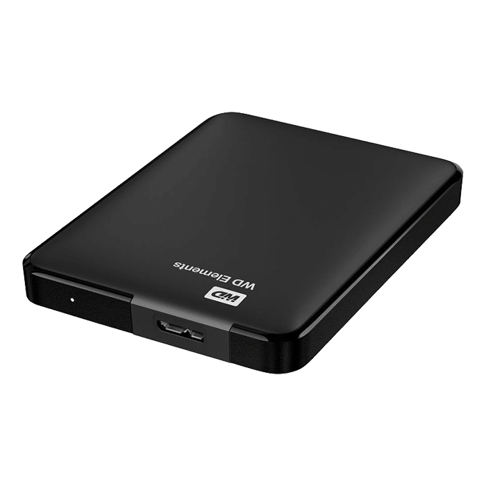 how to use the wd elements external hard drive