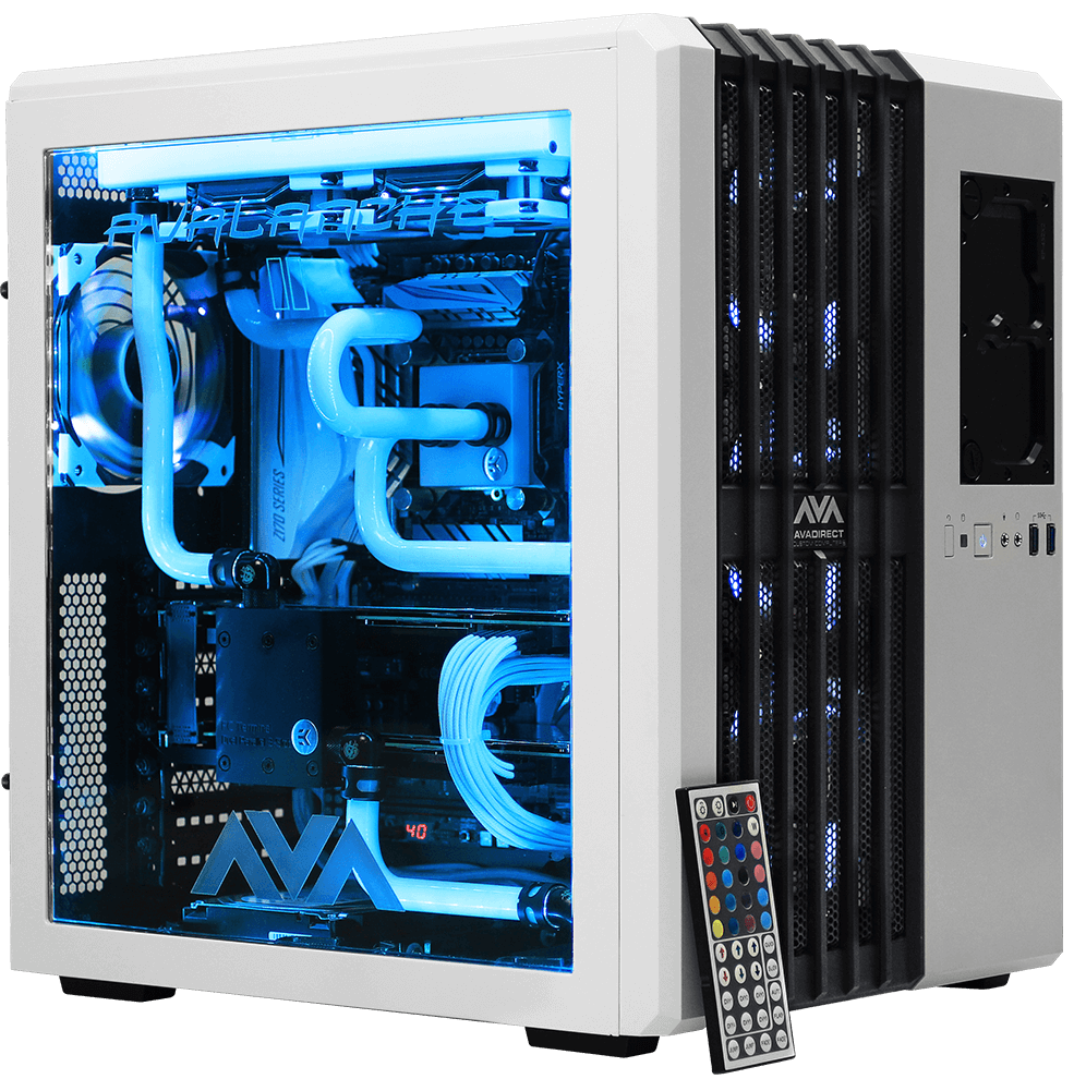 Avalanche Ii Hardline Liquid Cooled Gaming Computer