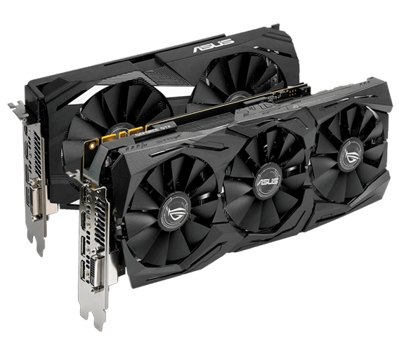 ASUS graphics cards