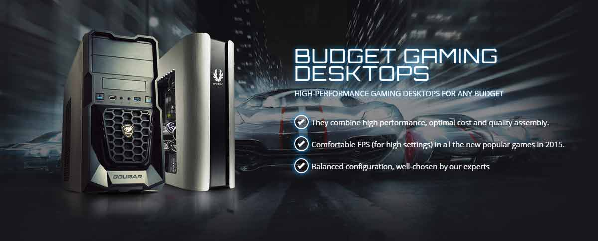 Affordable Custom Gaming PC