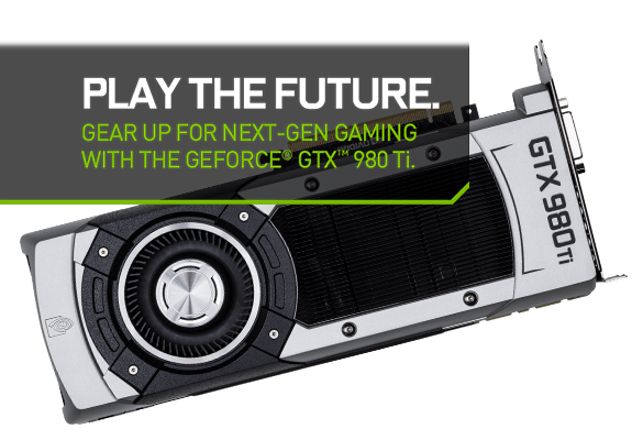 The NVIDIA 980Ti available from AVADirect