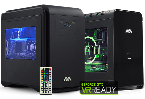 VR Computers from AVADirect