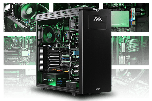 See what custom computers AVADirect has build for our customers in the showroom
