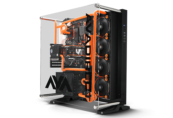 AVA Z270 Scorpio hardline liquid cooled gaming PC
