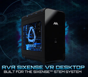 AVADirect Custom PC for virtual reality