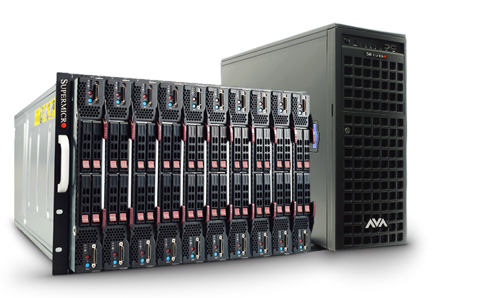 custom servers server configuration soundproof rackmount cabinet