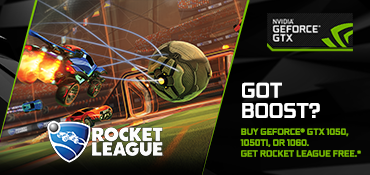<span>Free Game:</span> Rocket League (Valued at $19.99)