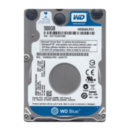 WD BLUE 500GB Laptop Hard Drive SATA 6Gb/s 2.5 Inch 5400 rpm 16 MB Buffer OEM