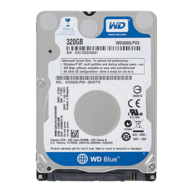 WD BLUE 320GB Laptop Hard Drive SATA 6Gb/s 2.5 Inch 5400 rpm 8 MB Buffer OEM