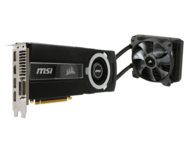 GeForce GTX 980TI SEA HAWK 6GB 384-Bit GDDR5 PCI-Express 3.0 x16 Video Card