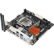H170M-ITX/ac Intel H170 Chipset Socket LGA 1151 DDR4 32GB Mini ITX Desktop Motherboard