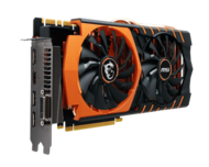 GeForce GTX 980Ti GAMING 6G GOLDEN EDITION 6GB 384-Bit GDDR5 PCI Express 3.0 x16 HDCP Ready SLI Support Video Card