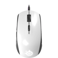 Rival 100, 6 Buttons, 4000dpi, Wired USB, White, Retail Optical Gaming Mouse