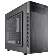 Carbide Series® 88R Black, No PSU, Steel, Micro-ATX, Mid Tower, Computer Case