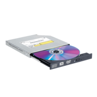 GTC0N, DVD 8x / CD 24x, CD/DVD Disc Burner, SATA, Slim, Black, OEM Optical Drive