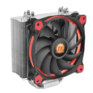 Riing Series Silent 12 Red, Socket 2011-3/1151/AM3+/FM2+, 159mm Height, 150W TDP, Copper/Aluminum, Retail CPU Cooler