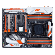GA-X99-PHOENIX SLI, Intel X99 Chipset, LGA 2011-3, DDR4 128GB, M.2, U.2 Port, USB 3.1, ATX Retail Motherboard