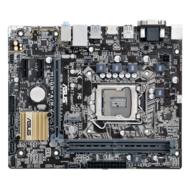 H110M-A/M.2, Intel H110 Chipset, LGA 1151, DDR4 32GB, HDMI, M.2, microATX Retail Motherboard