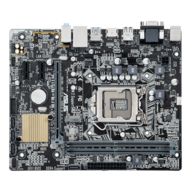 H110M-E/M.2, Intel H110 Chipset, LGA 1151, DDR4 32GB, HDMI, microATX Retail Motherboard
