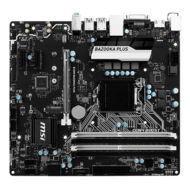 B150M BAZOOKA PLUS, Intel B150 Chipset, LGA 1151, DDR4 64GB, HDMI, M.2, USB 3.1, microATX Retail Motherboard