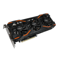 GeForce GTX 1080 WINDFORCE OC 8G, 1632 - 1797MHz, 8GB GDDR5X 256-Bit, PCI Express 3.0 Graphics Card