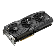 ROG Series Radeon RX 480 STRIX-RX480-8G-GAMING, 1266 - 1288MHz, 8GB GDDR5 256-Bit, PCI Express 3.0 Graphics Card