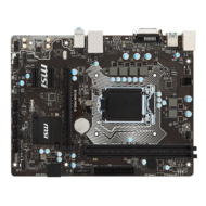 B150M PRO-D, Intel B150 Chipset, LGA 1151, DDR4 32GB, DVI-D, USB 3.1, microATX Retail Motherboard