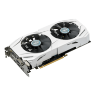 GeForce GTX 1060 DUAL-GTX1060-O3G, 1569 - 1809MHz, 3GB GDDR5 192-Bit, PCI Express 3.0 Graphics Card