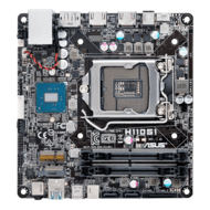 H110S2/CSM, Intel H110 Chipset, LGA 1151, DDR4 32GB, HDMI, M.2, Mini-STX Retail Motherboard