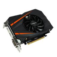 GeForce GTX 1060 Mini ITX OC 6G, 1531 - 1771MHz, 6GB GDDR5 192-Bit, PCI Express 3.0 Graphics Card