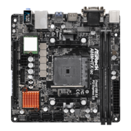 A88M-ITX/AC R2.0, AMD A88X Chipset, FM2+, DDR3 32GB, HDMI, Mini-ITX Retail Motherboard