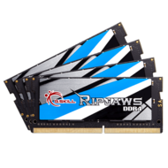 64GB Kit (4 x 16GB) Ripjaws DDR4 2800MHz, PC4-22400, CL18 (18-18-18-43) 1.2V, Non-ECC, SO-DIMM Memory