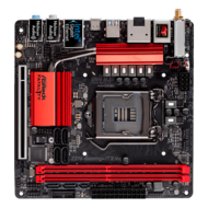 Fatal1ty Z270 Gaming-ITX/ac, Intel Z270 Chipset, LGA 1151, DDR4 32GB, HDMI, M.2, Thunderbolt 3, Mini-ITX Retail Motherboard