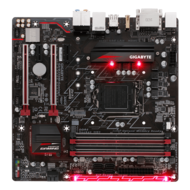 GA-B250M-Gaming 5, Intel B250 Chipset, LGA 1151, DDR4 64GB, HDMI, M.2, USB 3.1, microATX Retail Motherboard