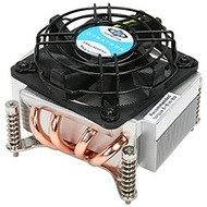 K555 Socket 1156 Active CPU Cooler for 2U Rack Server Chassis, Copper/Aluminum