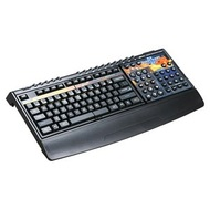 Zboard Bundle: StarCraft® II Gaming Keyboard, USB /2, Black, Retail
