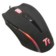 Tt eSports Element Gaming Laser Mouse, Black, 9 Buttons, 6500dpi, Wired, USB, Retail
