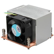 R5 Socket 2011 Active 2U CPU Cooler, 8000 RPM, 52.8 dBA, 160W TDP, Copper/Aluminum